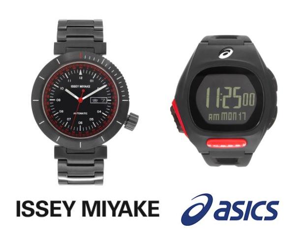 Issey Miyake and Asics